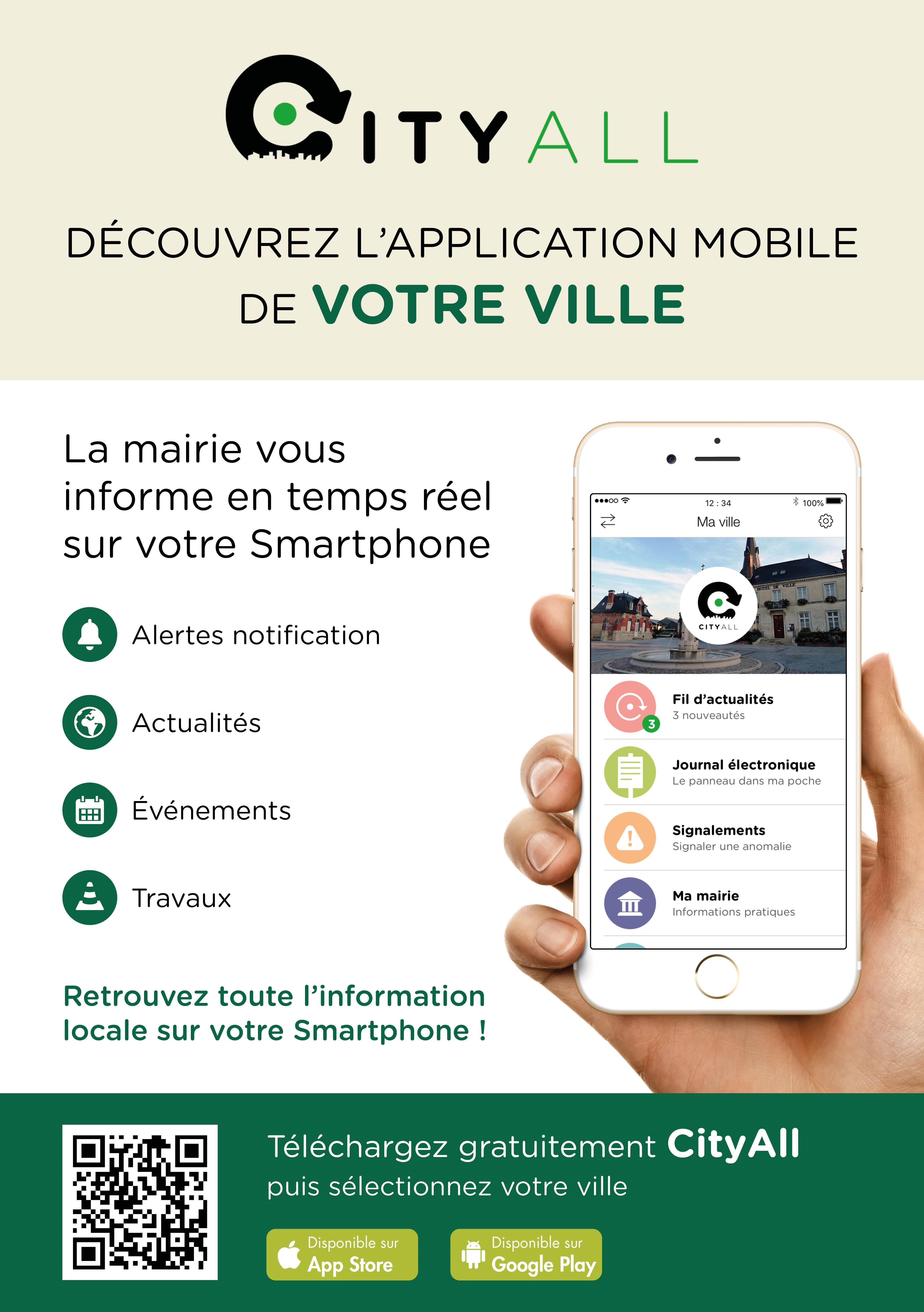 Une application mobile pour informer les citoyens