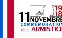 Cérémonie du 11 novembre en comité restreint et dans le respect des règles COVID19